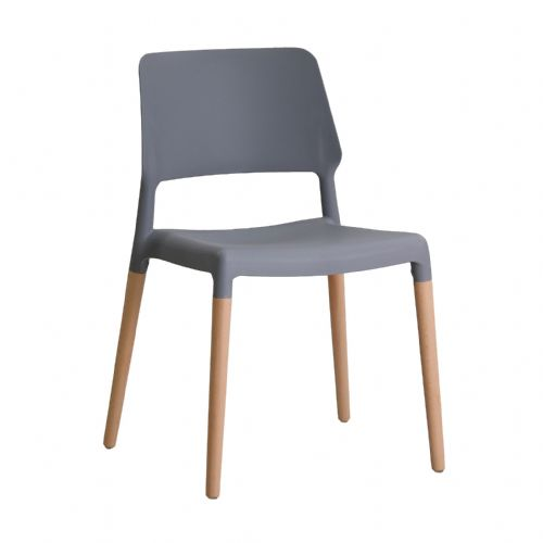 AXE Chairs (Grey)(Pair)